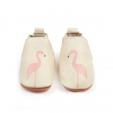 RIO | Flamingo - Cream Leather