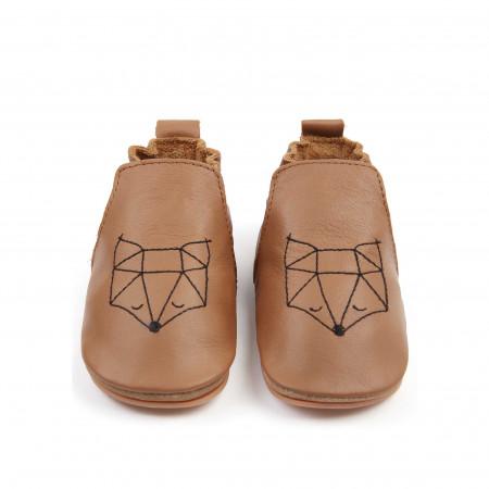 DUBI | Cognac Leather / Fox