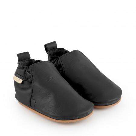 HAGEN | Black Leather