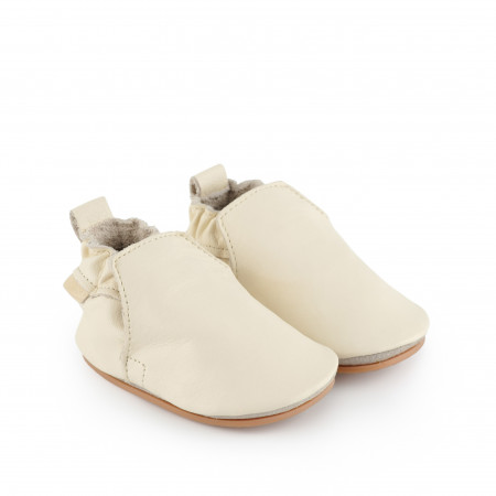 HAGEN | Cream Leather