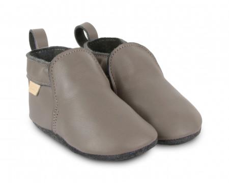 HAGEN   Grey Leather