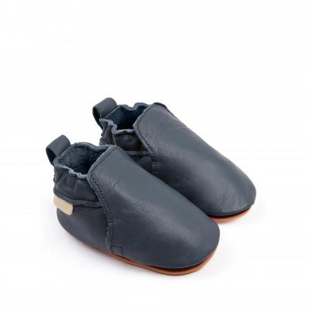 HAGEN | Navy Leather