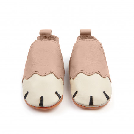 PAWS | Pastel Pink Leather