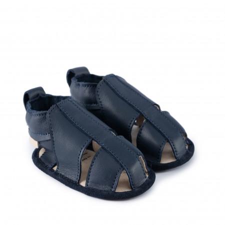 RIDGE | Navy Leather
