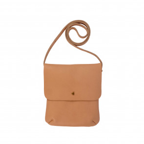 LEO SHOULDERBAG | Nude Leather
