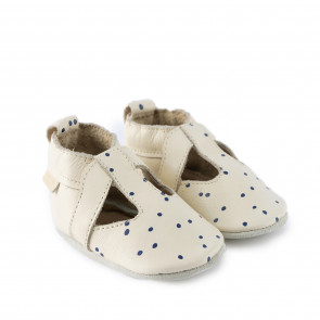 MEX DOTS | Cream Leather
