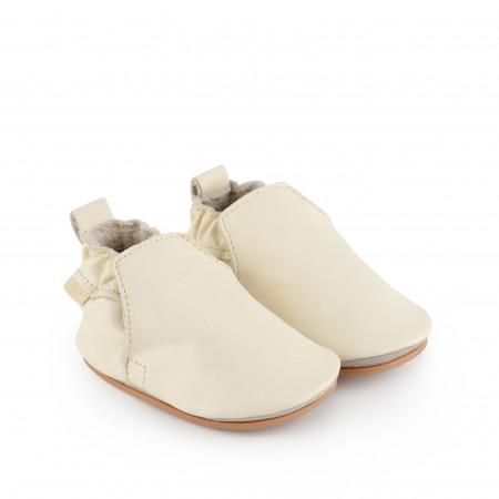 HAGEN | Cream Leather