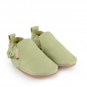 BAO   Milky Green Leather