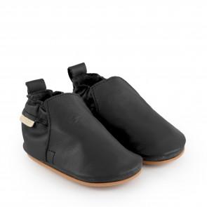 HAGEN   Black Leather