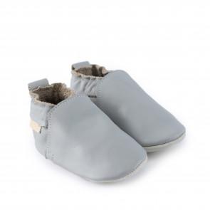 HAGEN | Blue Grey Leather