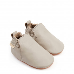 HAGEN | Pale Grey Leather