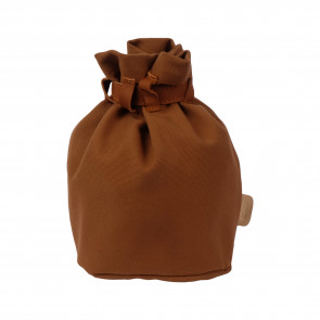 KURTIS BUCKET BACKPACK | Cognac Canvas