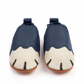 PAWS | Navy Leather